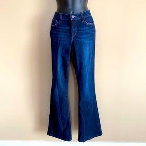 "Joe's Jeans ""Jessica"" Flare Dark Blue Jeans"